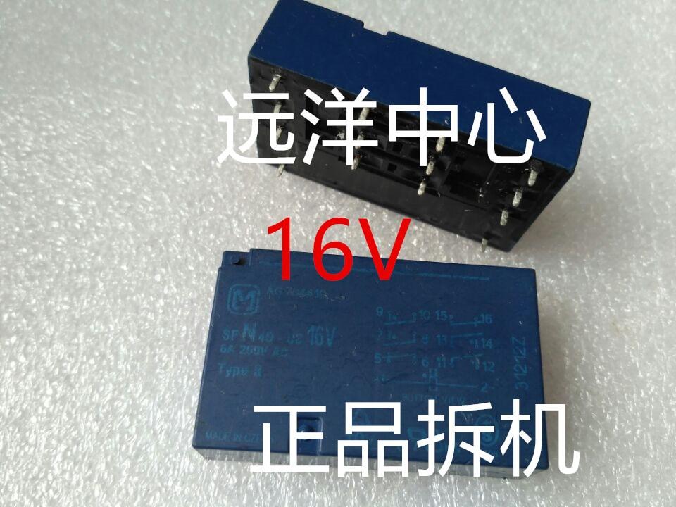 SFN4D-DC16V     6A 250VAC 16V