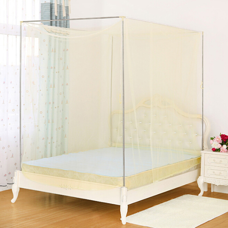 WCIC Colorful 2 Meters Single Door Summer Mosquito Nets 1.8M Bed Tent Double Bed Student ...