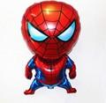 1 шт. 80*47 см Человек-Паук Воздушный Шар Классические Игрушки Рождество День Рождения Свадебные Украшения надувные воздушные шары бесплатная доставка WYQ