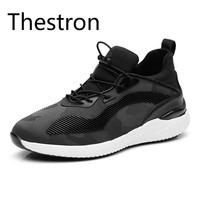 Thestron Men Casual Shoes Male Shoes Adult Footwear Black Gray Sneakers 2018 New Walking Brand Designer Luxury Fashion Man Cool