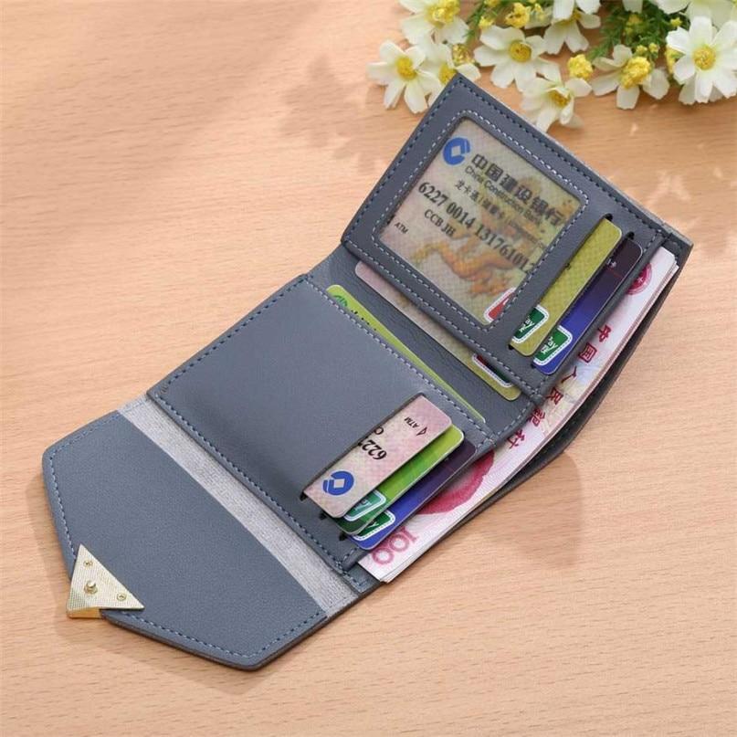 Maison Fabre Fashion Wallets Women 6 Colors Women Simple Short Wallet Hasp Coin Purse Card Holders 2017 Hot DropShipping OB16 2