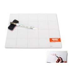 2017 JM-Z09 Magnetic screw mat + marker pen Eraser work pad mobile phone repair tool for cell phone laptop tablet
