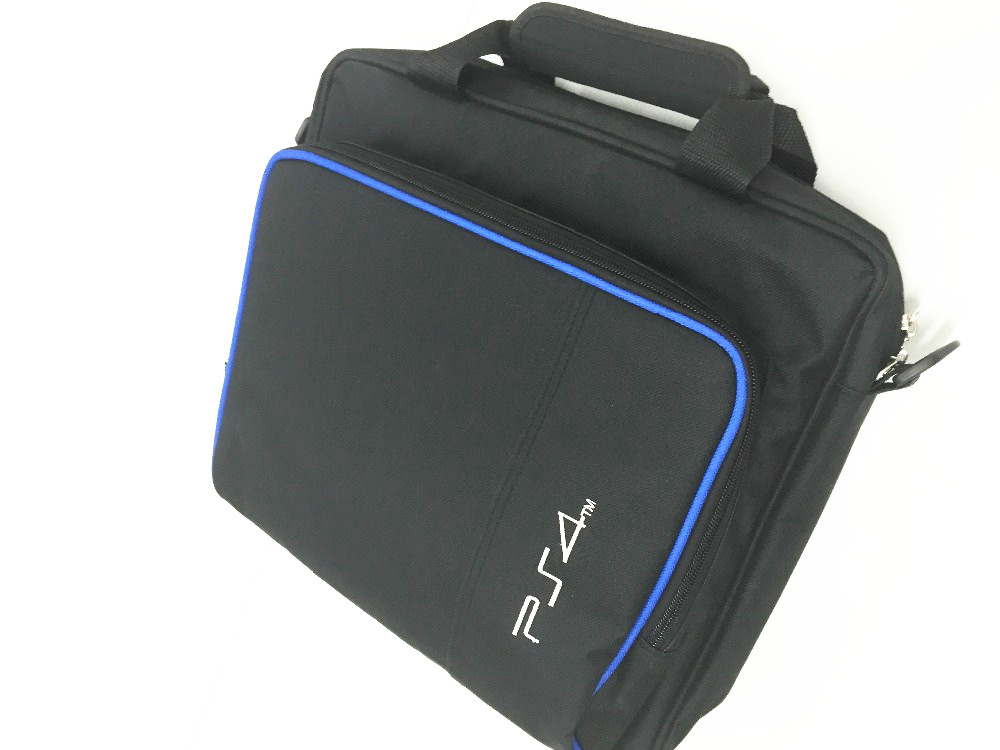 PS4 Game System Bag Cover Travel Storage Carry Case Shoulder Bag Handbag for PS4 Playstation 4 Console Controller Dual Charger