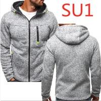 SU1 Fashion Long Sleeves Spring Men's Casual Zipper Hoody MC Hoodie Male Off White Man Pocket Sweatshirt Harajuku Casual Hoodies