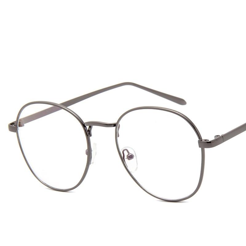 Fashion Goldene Metall Rahmen Brillen Für Frau Mann Weiblich ...