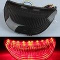 Nova fumaça integrado led lanterna traseira sinais de volta para honda cbr 600 RR 2003-2006 03 04 05 06 CBR1000RR 2004-2007 livre grátis