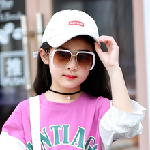 MARC 100%UV400 2018NEW girls boys fashion sunglasses Children Mirror PGradient sol Gafas oculos eyewear Goggle