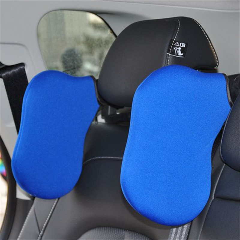 Car Styling High Quality Car Seat Headrest Car Seat Head and Neck Support Pillow Neck Shoulder Pillow Cushion For Sleeping chic quality flamingo and lotus pattern flax pillow case(without pillow inner)