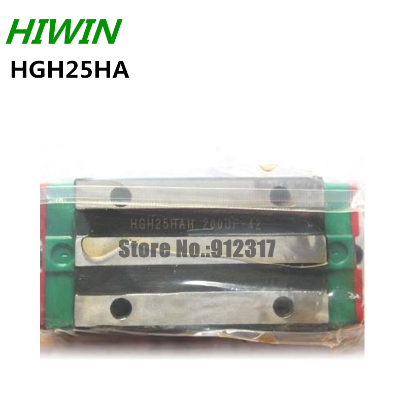 Original HIWIN Rail Carriage Block HGH25HA HIWIN Slider block for linear rails HGR25 original hiwin rail carriage block hgh25ha hiwin slider block for linear rails hgr25