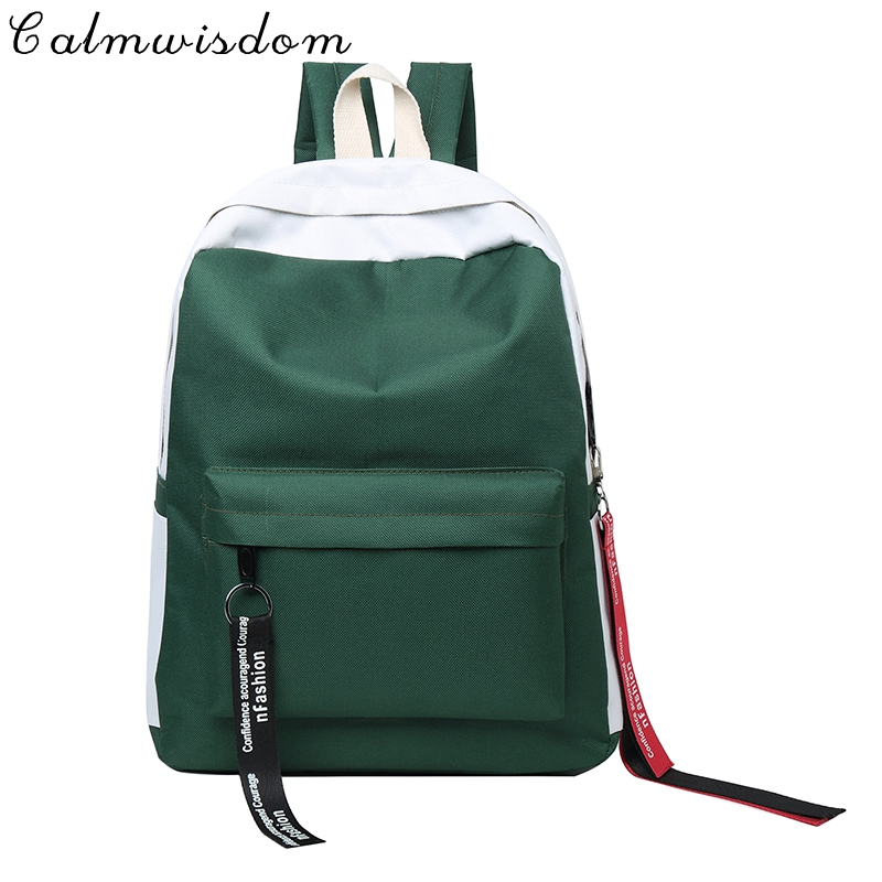 2018 Fashion Male Backpack School Backpack Women Notebook Bag School Book Travel Boy Back Pack Cool Canvas Youth Urban Girls