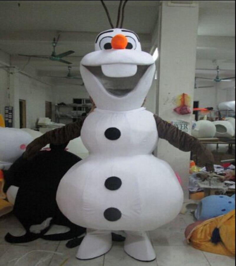Olaf dla wysokiej maskotka