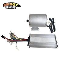 ANNOYBIKE BLDC 48 V 1500W1600W набор с бесщеточным двигателем с контроллером Электрический среднемоторный привод скутер комплект для модернизации мото