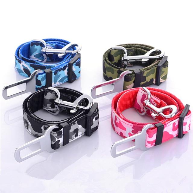 Regolabile Pet Dog Cat Safety Car Cintura Cintura di Sicurezza cintura di Sicure