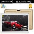 Новый T805C Android Смарт планшетный пк android tablet pc 10.1 дюймов окта ядро таблетки Оперативной Памяти компьютера 4 ГБ Rom 64 ГБ Белое Золото Черный