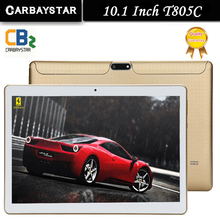 New T805C Android  Smart tablet pcs android tablet pc 10.1 inch Octa core tablet computer Ram 4GB Rom 64GB White Gold Black