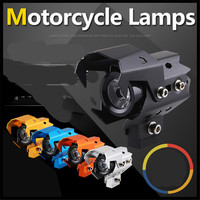 Motorcycle dirtbike Headlight LED Fog Lamp Lights Spotlight head light for YAMAHA YZ80 85 YZ125 250 YZ250F YZ426F 450F YZ250X