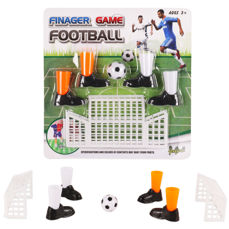 Mini finger soccer set toys Football fingertip game Sports competitive game party toys image