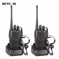 1 Pair Portable Radio Retevis H777 Walkie Talkie 5W 16CH UHF 400 470MHz Two Way Radio