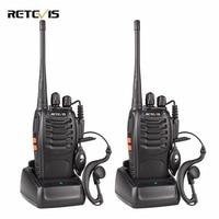 1 Pair Portable Radio Retevis H777 Walkie Talkie 5W 16CH UHF 400 470MHz Two Way Radio