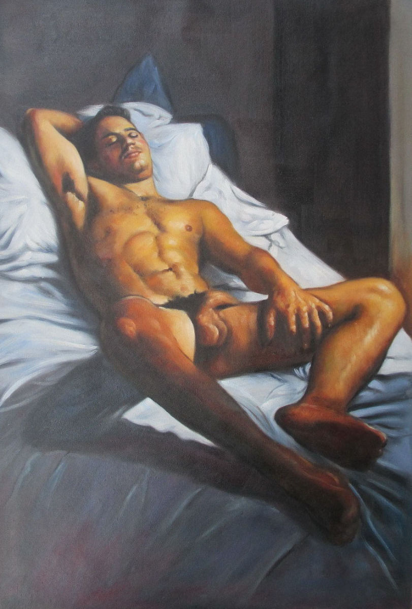 Popular Male Nude Paintings-Buy Cheap Male Nude Paintings -1081