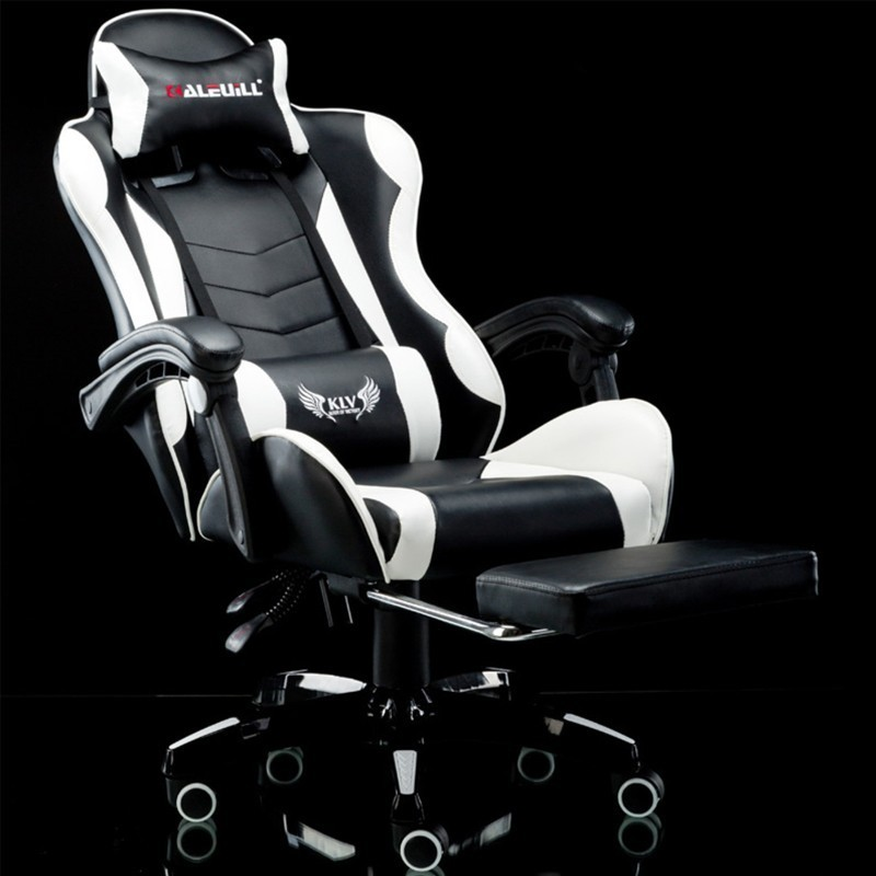 Union Electronic Sports Tennis Arch Computer Games Bench Game Room Human Engineering Sports Chair Amasar Lie Synthetic Leather