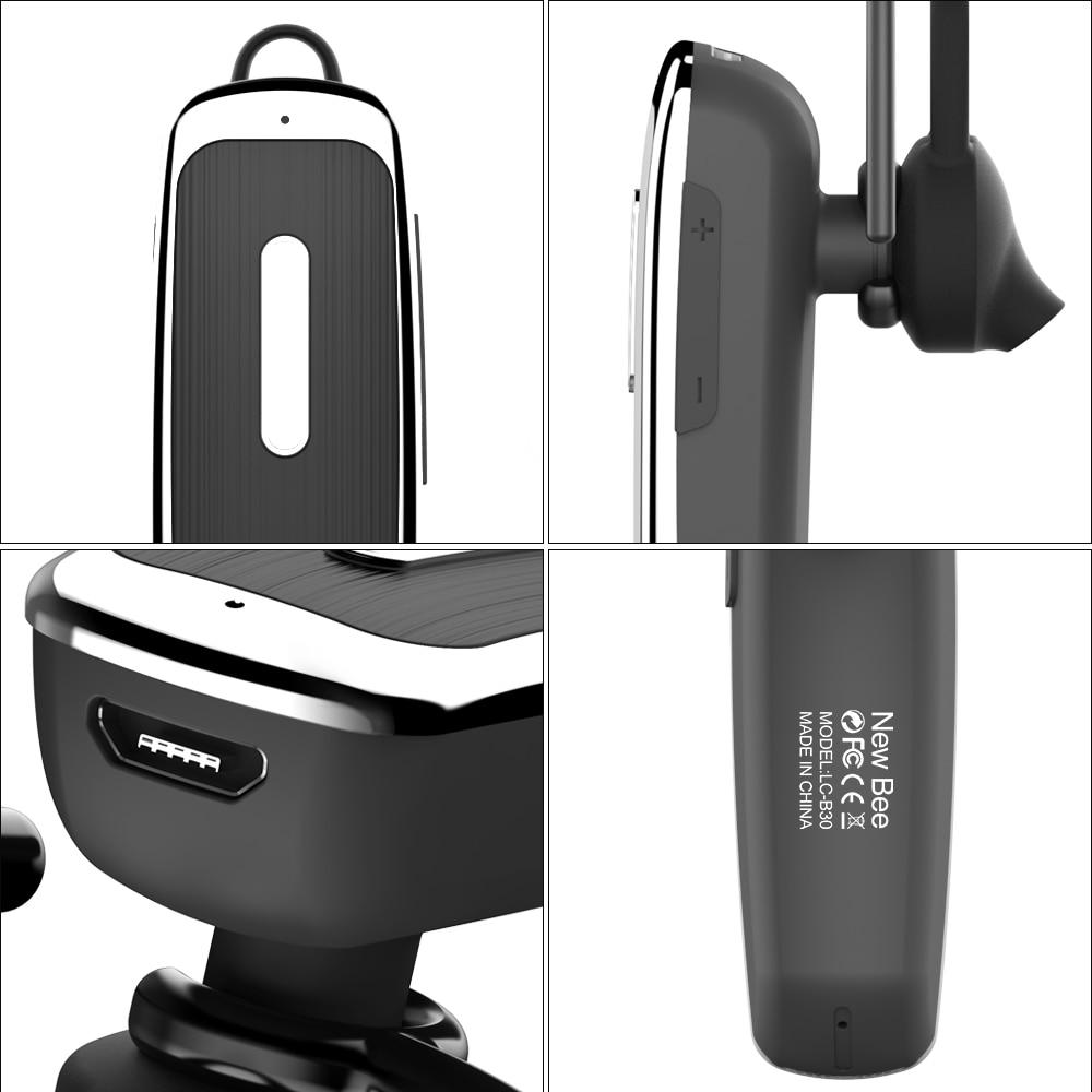 Nueva Abeja Original Manos Libres Inalámbrico de Auriculares Bluetooth Headset A