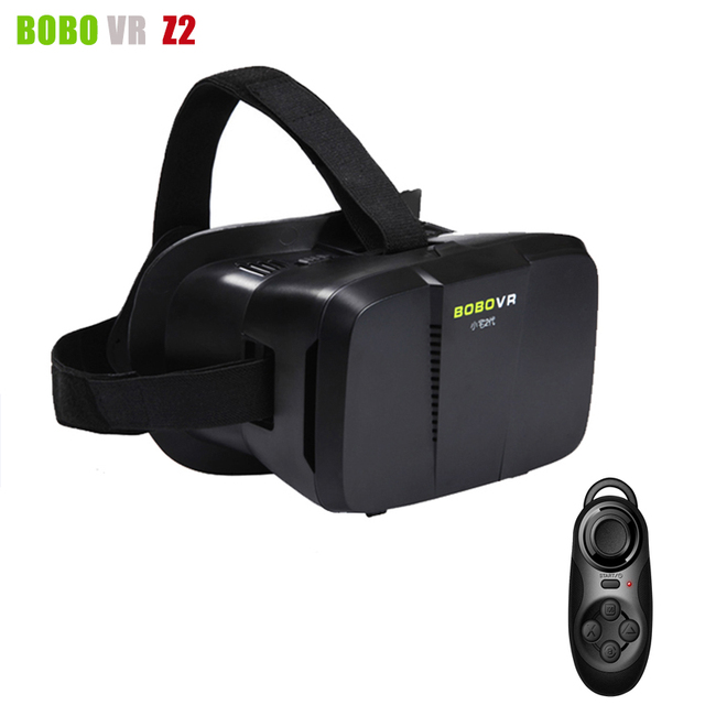 xiaozhai BOBOVR Z2 Virtual Reality 3D VR Glasses Google Cardboard VR BOX Helmet Headset for 4~6' Smartphone + Remote Controller