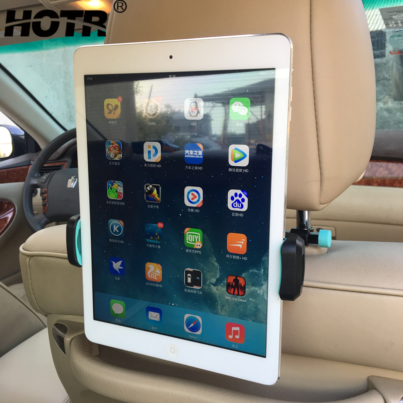 HOTR 2-in-1 Tablet Holder Rear Back Seat Car Phone Holder Air Vent Stand Mount Phone Holder Rotatable Stand Support Bracket
