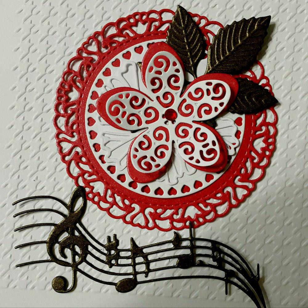 Koronki metalu wykrojniki dla diy pieczęć Album Scrapbooking wytłaczania papieru ślub robienie kartek dekoracyjne rękodzieła Party prezent