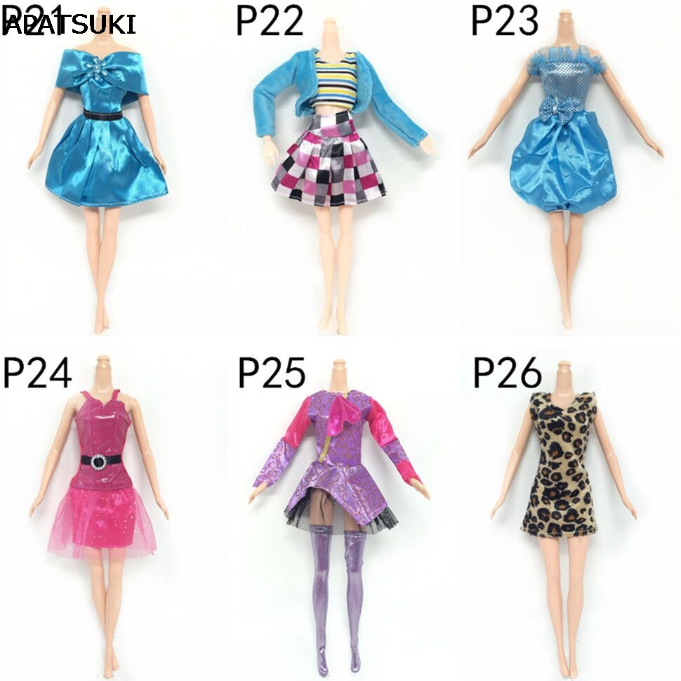 Doll Accessories Fashion Clothes For Barbie Doll Dress For 1 6 BJD Doll House Dolls Clothing