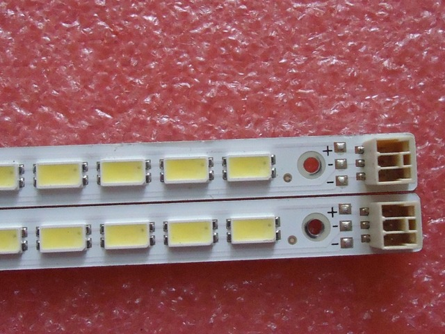 617mm LED Backlight Lamp strip 86leds For LCD TV LTA550HJ12  LJ64-03045A 2pcs