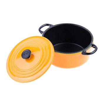 1 12 Dollhouse Miniature Kitchen Utensils Cooking Ware Mini Pot Boiler Pan Doll House Accessories