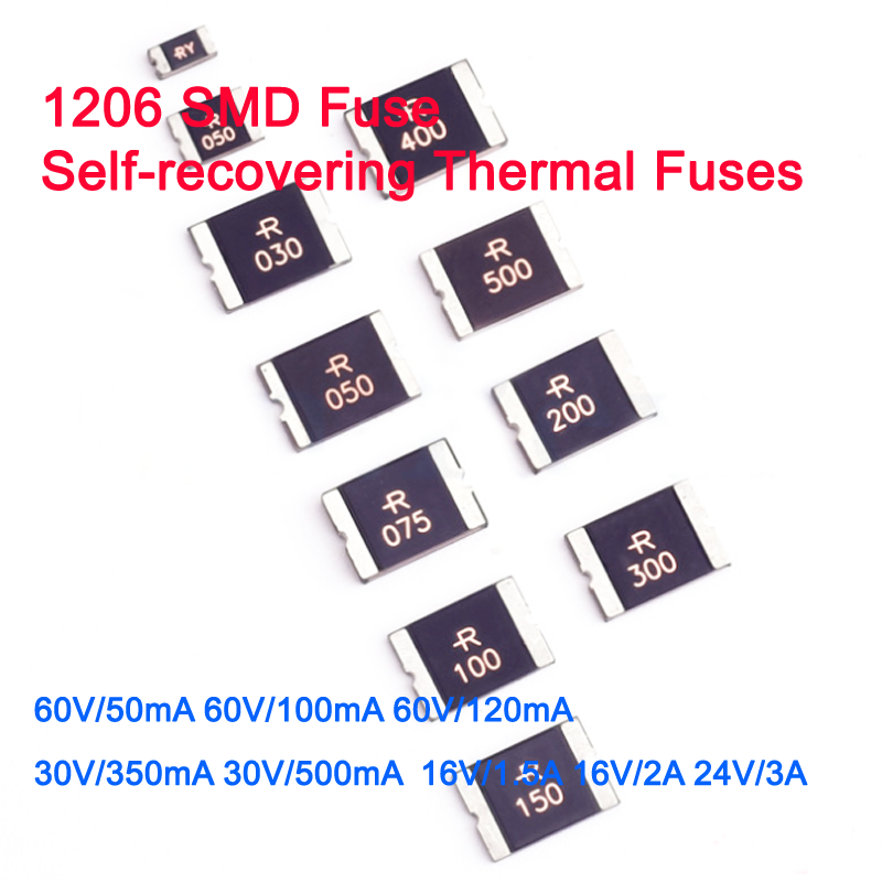 Te Connectivity // Raychem-miniasmdc010f-2 fuse 100ma 60vdc SMD PTC reset