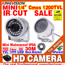 Sale Mini Surveillance 1/3cmos 800/1200TVL LED Security Infrared 30m Color ahdl CCTV Camera Outdoor Home Video HD Night Vision