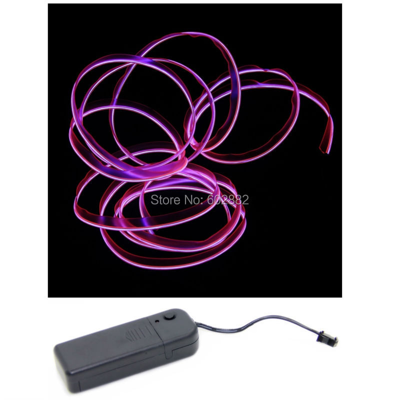3Meter Skirt el wire + + In wire ของ Inverter + - หลอดไฟ LED