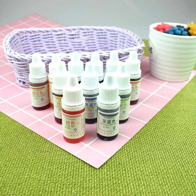 Dyeing Pigment Slime Crystal Mud UV Resin Dyeing Water Oil Dual Use Pigment DIY Craft TB Sale