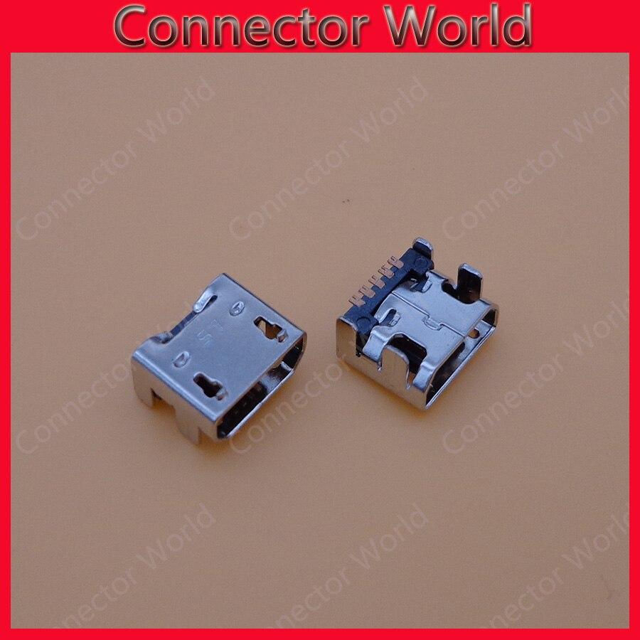 500pcs micro mini usb connector Jack socket charging port female plug For LG E400 E610 P880