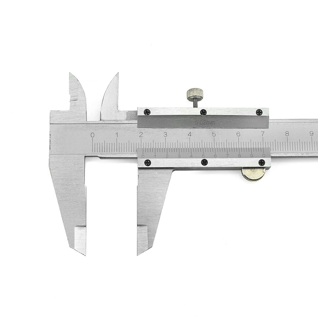 NEWACALOX Metal Calipers 6 inch 150 mm Vernier Digital Electronic Caliper Ruler Measurement Measuring Tool