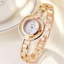 JW Luxury Brand Gold Watch Women's Stainless Steel Quartz Watch