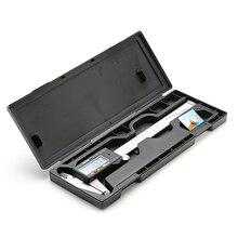 Ruler Vernier-Caliper Micrometer Dial-Tool Digital 150mm Electronic 6inch LCD with Box