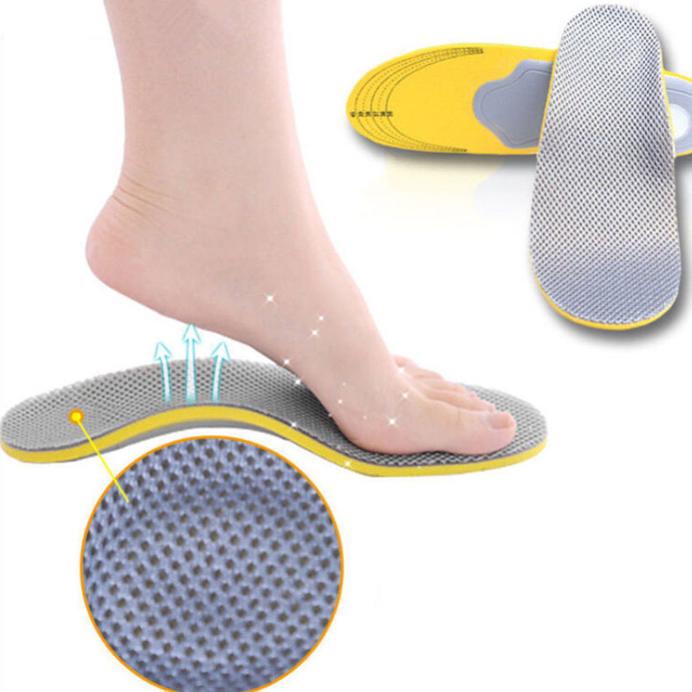 Memory Foam Unisex Orthopaedic Shoe Insoles Pads Trainer Foot Feet Comfort Heel