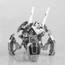 MU 3D Métal Puzzle Étoiles Artisanat Araignée Robot Bâtiment Modèle SGM-N01 DIY 3D Laser Cut Assembler Jouets Pour Vérification