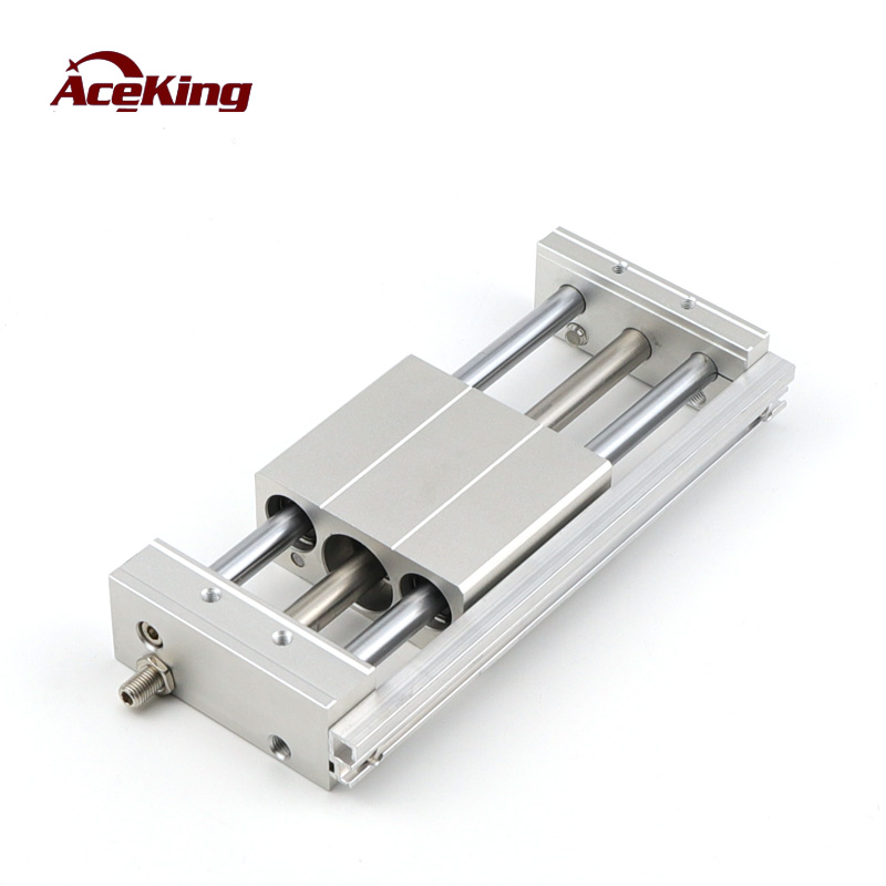 Magnetic coupling type guide bar slider rodless cylinder CY1S15H/CDY1S20/10/25/32/40-100-200-300-400-500 rmt32 mechanical