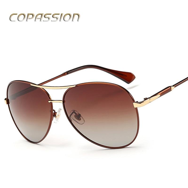 Alloy frame Polarized Sunglasses Women men 2017 Luxury Brand Pilot Sun glasses Female Shadow Sunglass oculos de sol Accessories