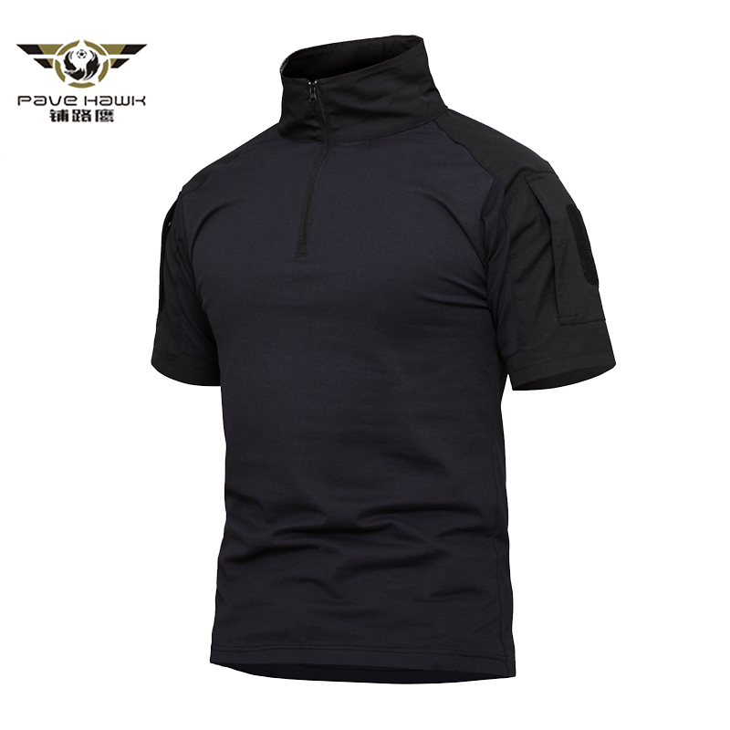 Assault Camouflage Tactical   Polo   Shirts Men Short Sleeve US Army Frog Combat Shirt Summer Multicam Military Tee Shirts 3XL 4XL