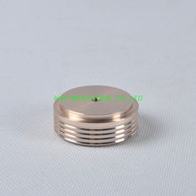 1pc 44X17mm Gold aluminum feet HIFI pad Chassi DIY Headphone Amplifier Speaker DAC Aduio