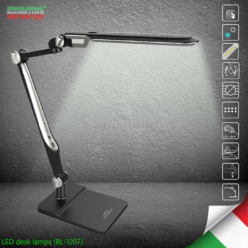 BL1207 10W LED Desk Lamps office table lamp student reading lamps fashion lights Free rotation Angle