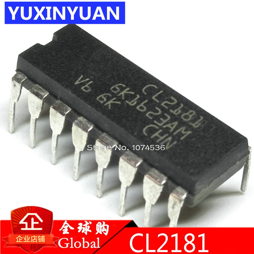 CL2181 DIP16 CL2181N CL2181CN LCD Power-chip DIP-16 1PCS