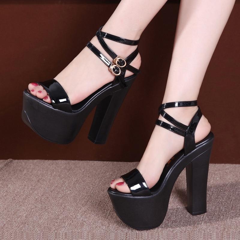 Extreme High Heels Sandals 14cm Women