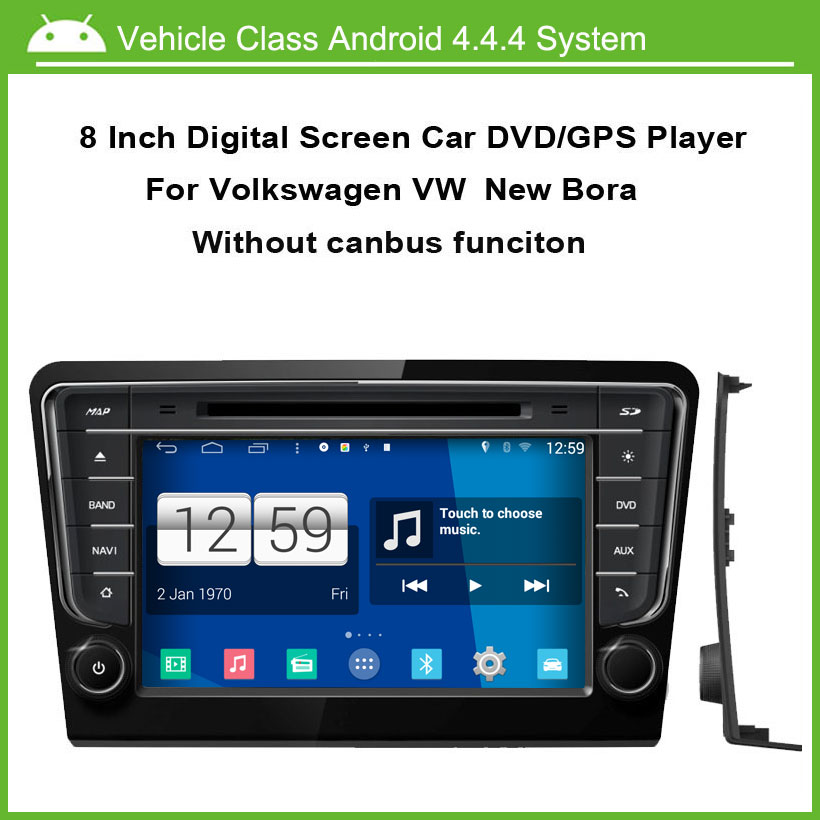 Android Car DVD player for VW new Bora Volkswagen Santana Jetta without canbus GPS Navigation,Speed 3G, enjoy the built-in WiFi